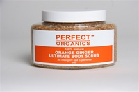 Perfect Organics Ultimate Body Scrub Orange Ginger