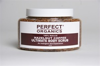 Perfect Organics Ultimate Body Scrub Hazelnut Coffee