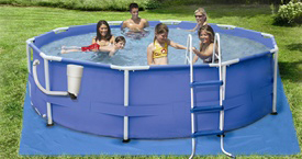 "12' x 30"" Round Frame Pool Set"