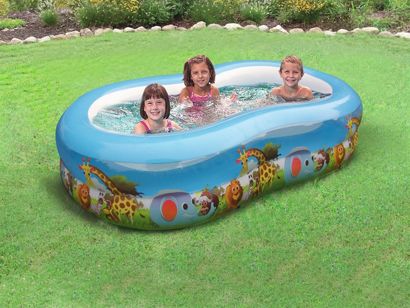 Safari Animal Kiddie Pool - Backyard Oceankiddie