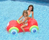 Red Car Ride-On Pool Toy