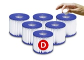 Type D Universal Pool Filter Cartridge