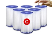 Type C Universal Pool Filter Cartridge