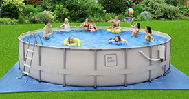 "22' x 52"" ProSeries™ Round Frame Pool Set"
