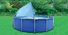 Backyard Ocean Swimming Pool Canopy