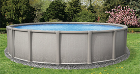 "Matrix 24' Round 54"" Resin Above Ground Pool Package"