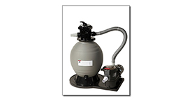 "Sandman 18"" Above Ground Sand Filter System With 1 HP Pump"