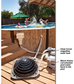Small Solar Pro Solar Pool Heater