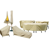 Outdoor High Back Chair Winter Cover
