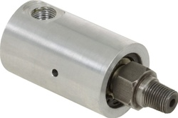 "Rotary Union - 1/8"" NPT Female Port - 1/8"" NPT Male Rotor Air & Hydraulic"