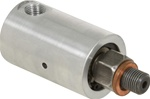 "Rotary Union - 1/8"" NPT Female Port - M10x1 RH Male Rotor Air & Hydraulic"