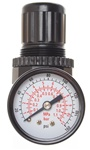 "Miniature Air Regulator 1/8"" Pipe Size, 19 Max SCFM, 5 to 100 PSI Range"