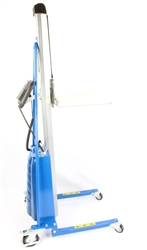 "Electric Roll Lifter, 220 Pound Capacity, 79"" Max. Height"