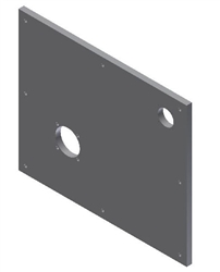 "Universal Mounting Plate 20"" x 24"" x 3/4"""