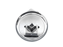 "Safety Chuck pair - Flange Mounted - 45 Degree Entry - 1-1/2"" square pocket - Ø1-3/8"" mounting shaft"