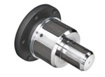 Flange Mounted Torque Activated Shaftless Core Chuck