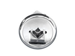 "Safety Chuck pair - Foot Mounted - 45 Degree Entry - 1-1/2"" square pocket - Ø1-3/8"" mounting shaft"