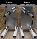 Unwind and Rewind Set - Adjustable Torque, no feedback