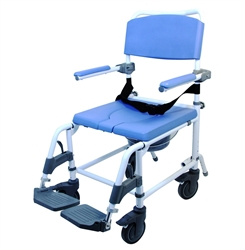 Healthline Ezee Life Aluminum Shower Commode Chair