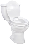 Raised Toilet Seat without Lid