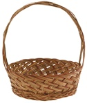 Coco Midrib Basket w/ Handle - 10.5""