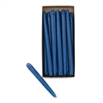 "10"" NAVY BLUE TAPER CANDLES (PACK OF 12)"