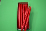 "12"" Taper Candle-Red (Pack of 12)"