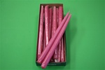 "12"" Taper Candle-Rosewood (Pack of 12)"