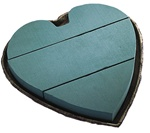 "Solid Heart 12"" (2 Pack)"