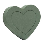 OASIS® Floral Foam Shape, Heart, 12/case