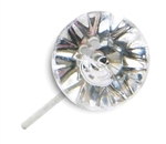 LOMEY™ Diamante Pin, Clear, 1,000/case