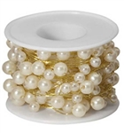 OASIS™ Beaded Wire, Ivory, 10/case
