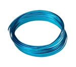 "3/16"" OASIS™ Flat Wire, Turquoise, 10/case"