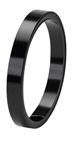 "1/2"" OASIS™ Flat Wire, Black, 10/case"