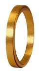 "1/2"" OASIS™ Flat Wire, Gold Matte, 10/case"