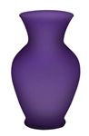 "11"" Bouquet Vase, Purple Matte, 9/case"
