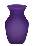 Rose Vase, Purple Matte, 12/case