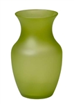 Rose Vase, Apple Green Matte, 12/case