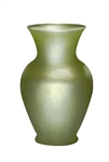 "11"" Bouquet Vase, Apple Green Ice, 9/case"