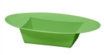 ESSENTIALS™ Oval Bowl, Apple Green, 24/case
