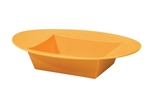 ESSENTIALS™ Oval Bowl, Tangerine, 24/case