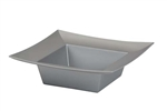 ESSENTIALS™ Square Bowl, Silver, 24/case