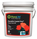 Floralife CRYSTAL CLEAR® Flower Food 300 Powder, 5 lb., 6/case