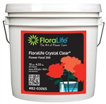 Floralife CRYSTAL CLEAR® Flower Food 300 Powder, 10 lb., 10 lb. pail