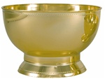 Designer Bowl - Gold (Case of 12)
