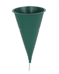 Floral Cemetery Cone (Pack of 4)