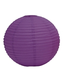 "12"" Paper Lantern (Pack of 24) - Plum"