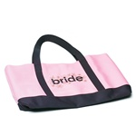 """Bride"" Two Tone Tote"