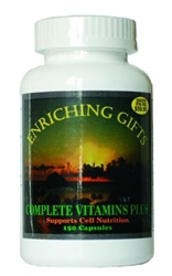 Complete Vitamins Plus - 150 capsules - Enriching Gifts