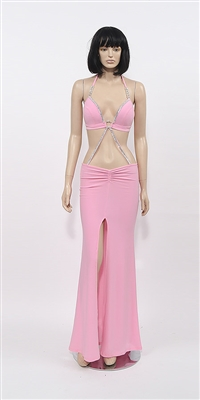 Vanity - Two piece discount stripper gown